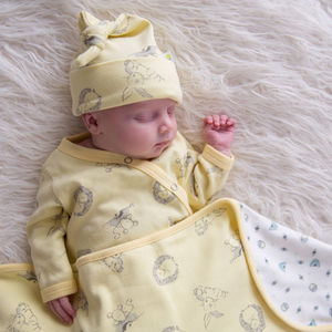 Woodland Sunshine Unisex Baby Wear Bundle - more