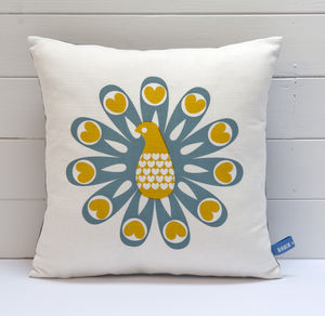 Peacock Cushion Cover - brand new sellers
