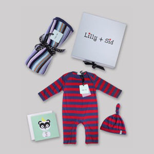 Baby Boys Luxury Gift Set Incl Blanket