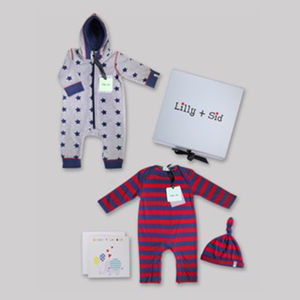 Baby Boys Out And About Gift Set Free Box And Card