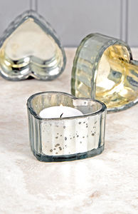 Heart Shaped Tea Light Holder - view all decorations