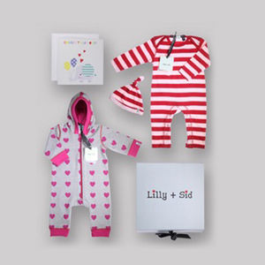 Baby Girl Out And About Gift Set Free Box And Card
