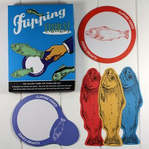 Flipping Fishes Game Vintage Fun - traditional toys & games