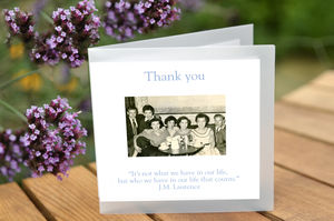 Pack Of Six Thank You Cards - thank you cards