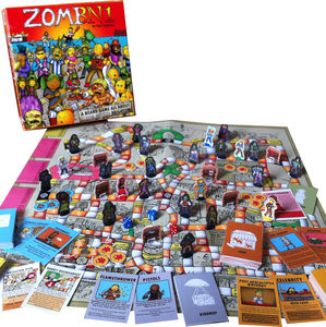 Zombie Infested Brighton Board Game - toys & games