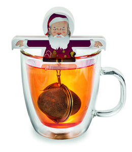 Hot Santa Christmas Tea Egg - view all decorations