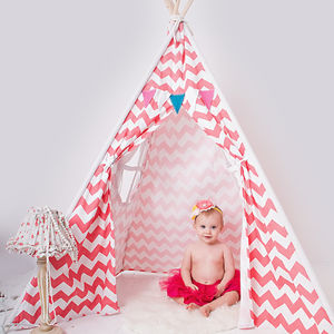 Chevron Print Teepee - gifts for children
