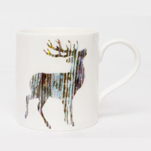 Single Stag Mug - dining room