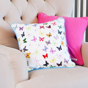 Butterflies Cushion - bedroom