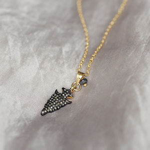 Diamond Pave Necklace - fine jewellery