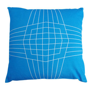 Op Box Geometric Cushion - patterned cushions
