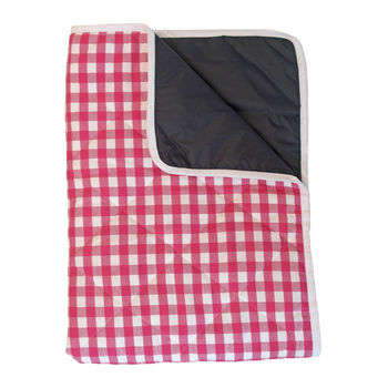 Outdoor Baby Blanket Cherry Pink