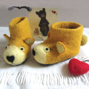Baby Bear Slippers