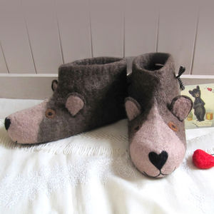 Daddy Bear Slippers
