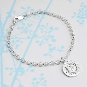 Personalised Dotty Charm Bracelet - gifts for teenagers