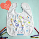 Your Child's Artwork Personalised Bib