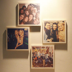 Personalised Wooden Photo Print - home accessories