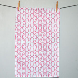 Geo Tea Towel