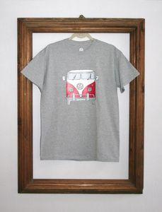 Camper Van Hand Drawn T Shirt - tops & t-shirts
