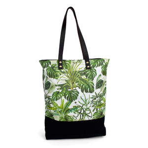 Leafy Monstera Tote Bag - bags & purses
