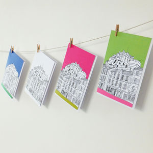 Edinburgh Castle Card Set - notelets