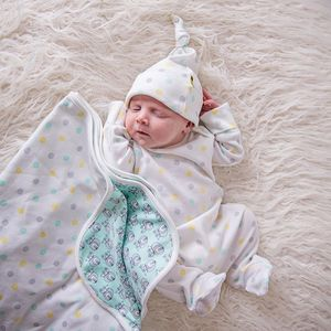 Acorn Dot Baby Wear Bundle - babygrows