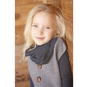 Organic Merino Wool Cardigan Vest
