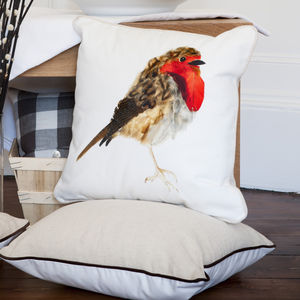 Robin Cushion - bedroom
