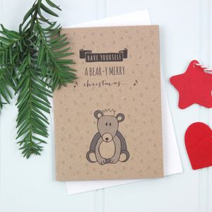 'Have Yourself A Beary Merry Christmas' Card