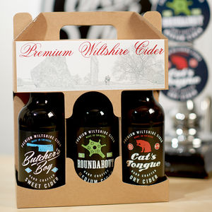 Cider Gift Pack - gifts for foodies