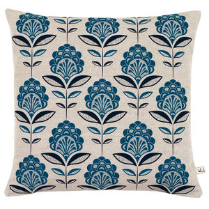 Peacock Flower Cushion - cushions