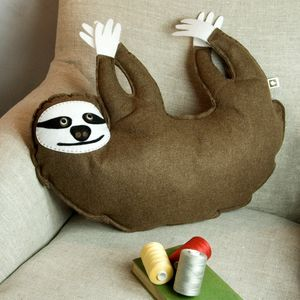 Sloth Cushion - cushions