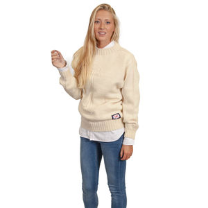 Classic Women's Wool Jersey Sweater - jumpers & cardigans