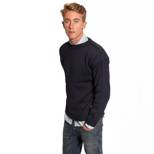 Forest Wool Guernsey Sweater - more