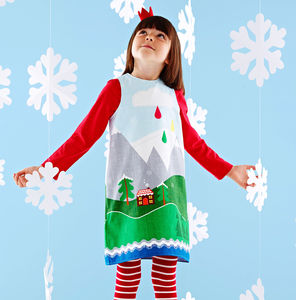 Fairytale Christmas Dress - party wear