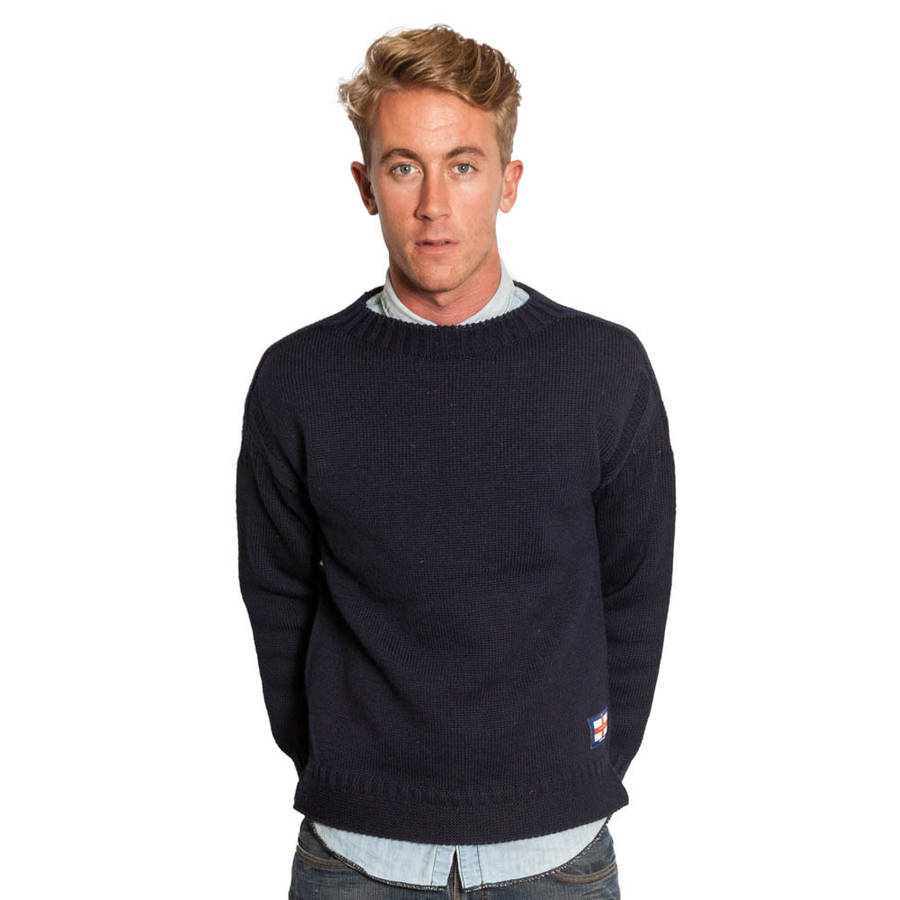 Co colour care guernsey - Wool Guernsey Sweater