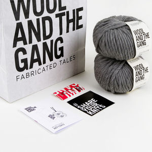 Snood Dogg Scarf Knitting Kit