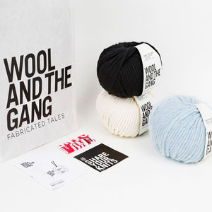 Say My Name Beanie Knitting Kit - interests & hobbies