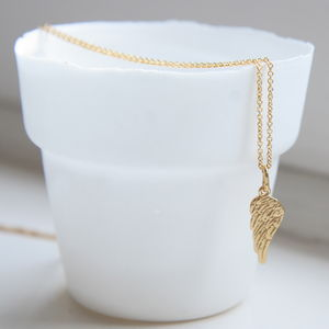 Angel Wing Necklace - necklaces & pendants