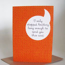 'I Only Stopped Knitting' Greeting Card