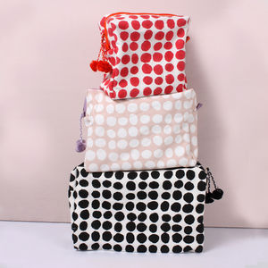 Spot Print Wash Bag - wash & toiletry bags
