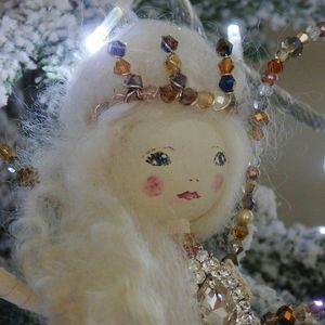 Christmas Fairy Personalised Heirloom Vintage Inspired - view all decorations
