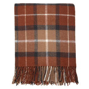 Country Check Throw - throws, blankets & fabric