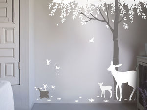 Magical Forest Wall Sticker - bedroom