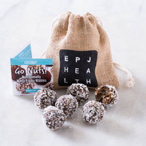 Go Nuts! Artisan 'Free From' Coconut Sweet Treats - alcohol free gifts