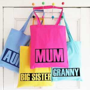 Personalised Tote Bags For The Girls - clothing & accessories