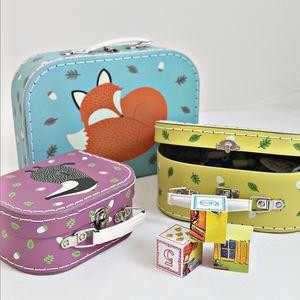 Set Of Three Children's Animal Carry Case