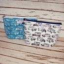 Vintage Cars Driving Men's Toiletry Wash Bag