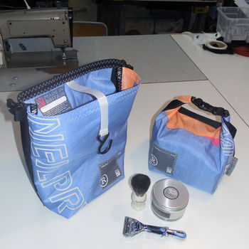 Recycled Wind Surf Sail Wash Bag