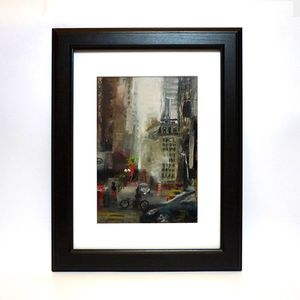 I Heart Nyc Original Oil Painting - valentine's gifts for him